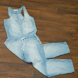 Cloth & Stone Medium Chambray Jumpsuit